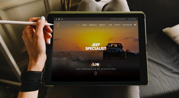 Webshop 4Low, Jeep specialist