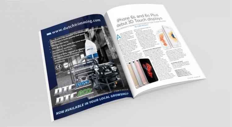 Ontwerp A4 brochure en advertentie